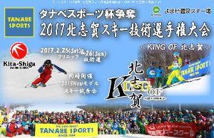 2017北志賀スキー技術選