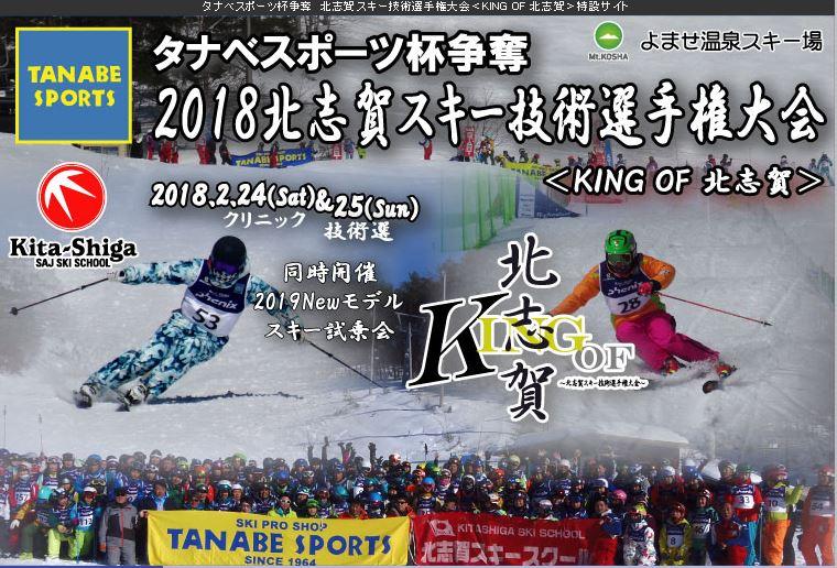 タナベ杯北志賀スキー技術選
